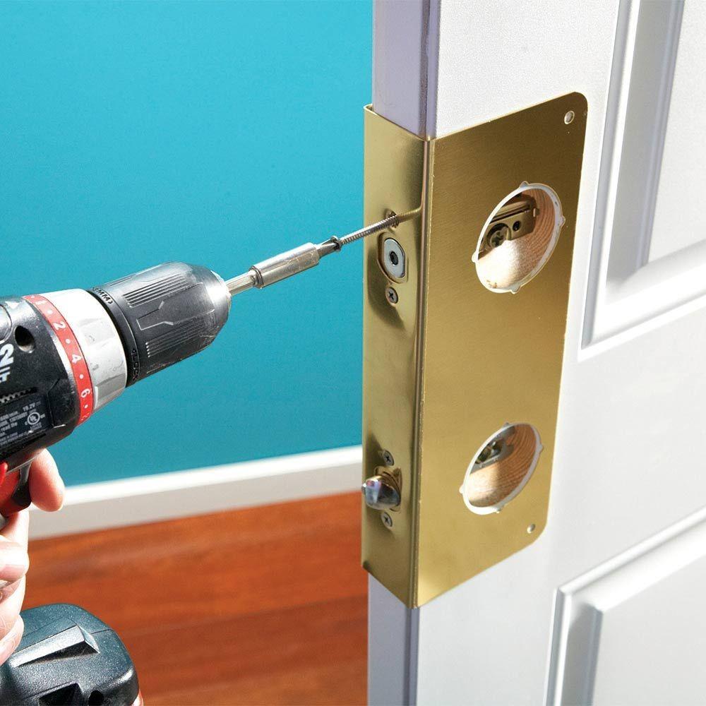 ابزار و وسایل لازم برای تعمیر درب ضد سرقت