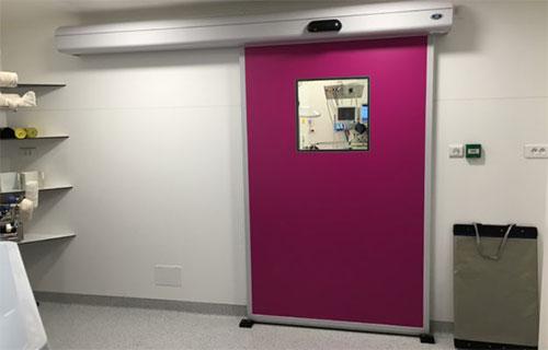 استفاده از درب اتوماتیک برای بیمارستان ها